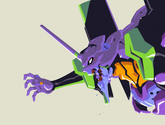 Evangelion Unit-01 wallpaper