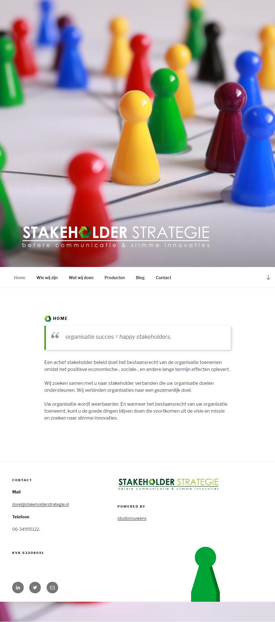Stakeholder strategie